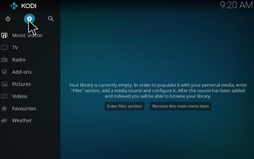How to Install BOB Unrestricted Add-on Kodi 17 Krypton step 1