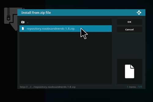 How to Install BOB Unrestricted Add-on Kodi 17 Krypton step 12