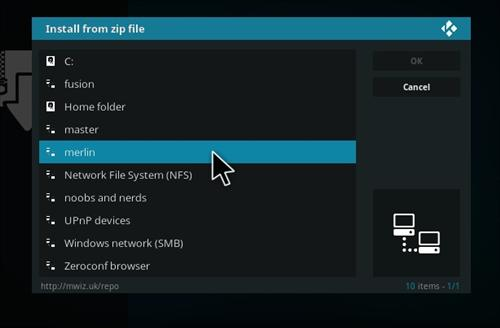 How to Install Pulse Workout Add-on Kodi 17 Krypton step 11