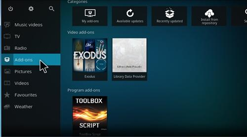 How to Install Pulse Workout Add-on Kodi 17 Krypton step 8