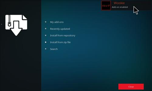 How to Install Wookie Build Kodi 17 Krypton step 11