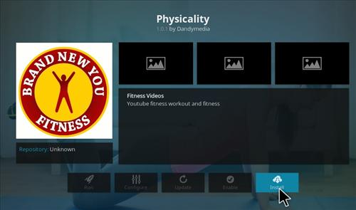 How to Install Physicality Add-on Kodi 17 Krypton step 17