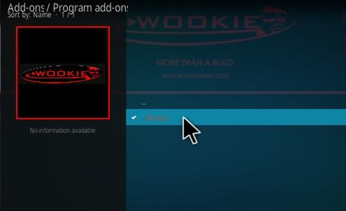 How to Install Wookie Build Kodi 17 Krypton Wookie 111