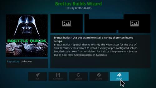 How to Install Brettus Builds Kodi 17 Krypton step 18