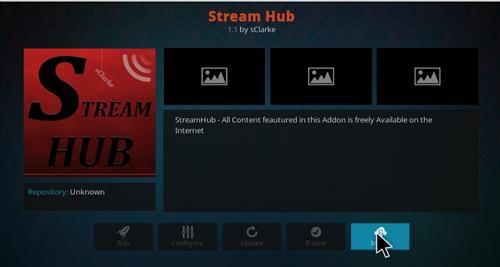 How to Install Stream Hub Add-on Kodi 17 Krypton step 18