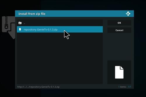How to Install Genie TV Add-on Kodi 17 Krypton step 11