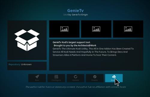 How to Install Genie TV Add-on Kodi 17 Krypton step 18