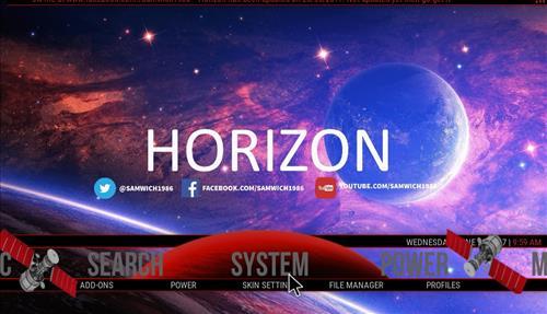 How to Install Horizon Build Kodi 17 Krypton pic 1