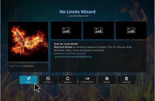 How to Install No Limits Magic Build Kodi 17 Krypton step 17