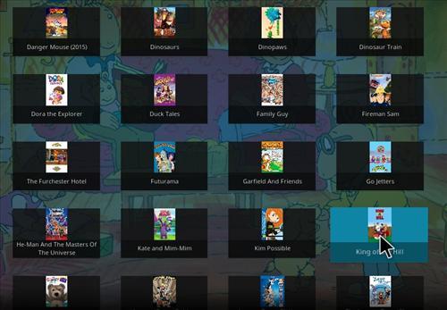 Overview Bobbys Cartoons Add-on Kodi 17 Krypton pic4