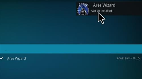 How to Install Ares Wizard Kodi 17 Krypton step 20