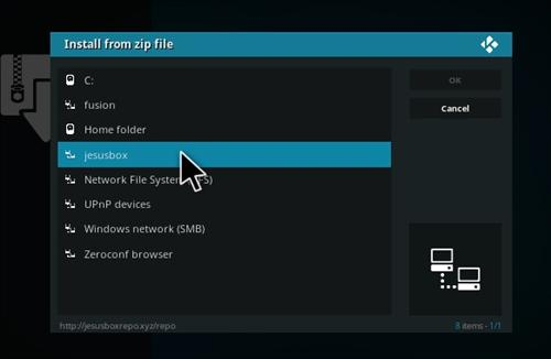 How to Install Genesis Reborn Add-on Kodi 17.1 Krypton step 11
