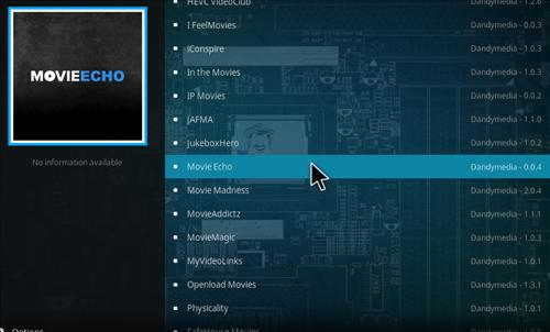 How to Install Movie Echo Add-on Kodi 17.1 Krypton step 17