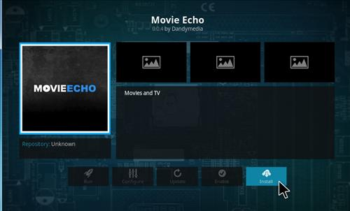 How to Install Movie Echo Add-on Kodi 17.1 Krypton step 18