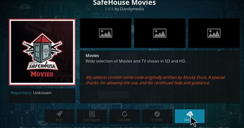 How to Install Safe House Movies Add-on Kodi 17.1 Krypton step 18