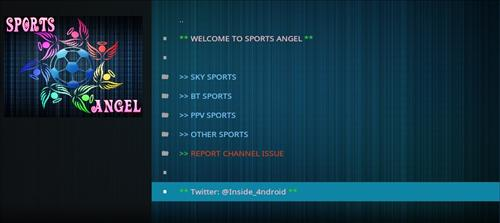 How to Install Sports Angel Add-on Kodi 17.1 Krypton pic 2