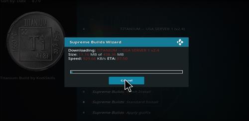 How to Install Titanium Build Kodi 17 Krypton step 27