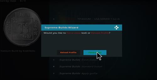 How to Install Titanium Build Kodi 17 Krypton step 28