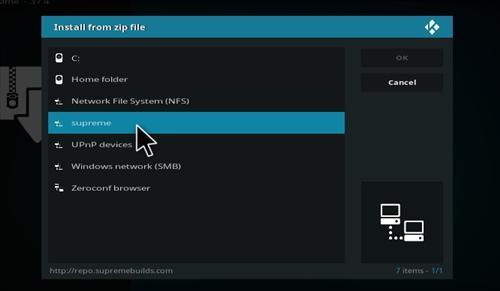How to Install Titanium Build Kodi 17.1 Krypton step 11