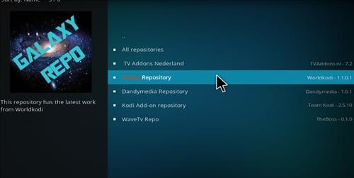 How to Install Universe Kodi Add-on with Screenshots step 15