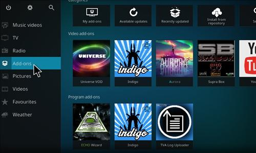 How to Install Universe VOD Add-on Kodi 17.1 Krypton step 7