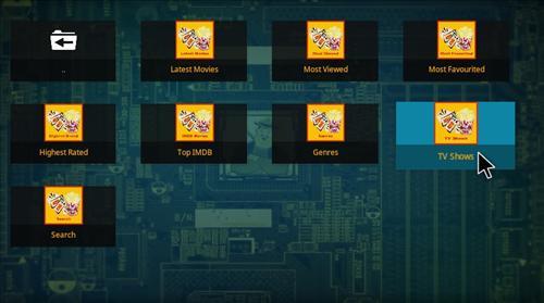 Overview Jafma Add-on Kodi 17 Krypton