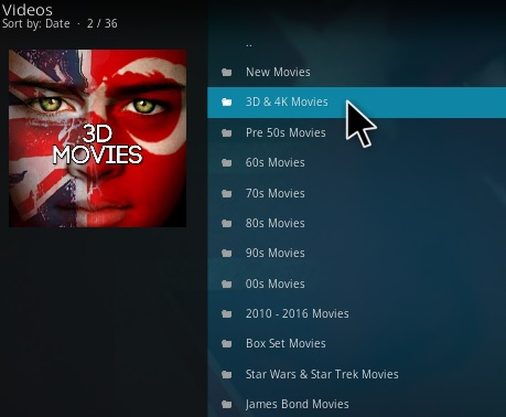 how to watch movies on kodi 17.5