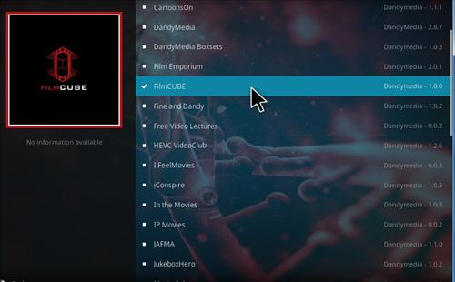 How to Install FilmCube Add-on Kodi 17.1 Krypton step 17