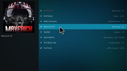 How to Install Maverick TV Add-on Kodi 17.1 Krypton step 17