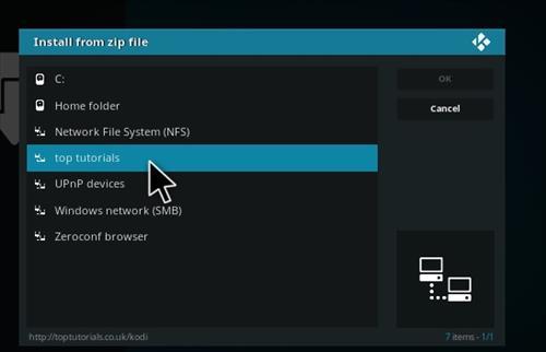 How to Install Perflix TV Repository Kodi 17.1 Krypton step 11