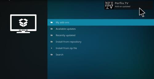 How to Install Perflix TV Repository Kodi 17.1 Krypton step 14