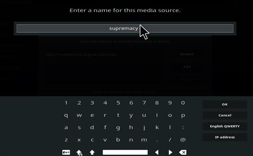 How to Install Supremacy Add-on Kodi 17.1 Krypton step 6