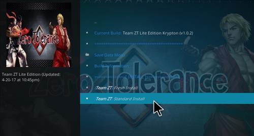 How to Install Zero Tolerance Build Kodi 17.1 Krypton ...