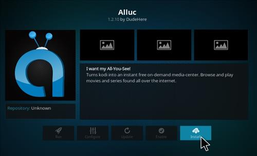 How to Install Alluc Add-on Kodi 17.1 Krypton step 19