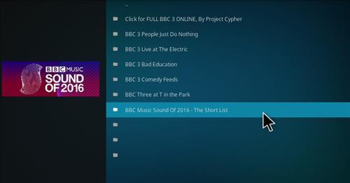How to Install BBC 3 Online Add-on Kodi 17.1 Krypton pic 2