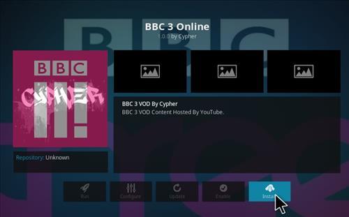 How to Install BBC 3 Online Add-on Kodi 17.1 Krypton step 18