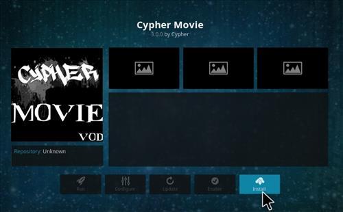 How to Install Cypher Movie VOD Add-on Kodi 17.1 Krypton step 18
