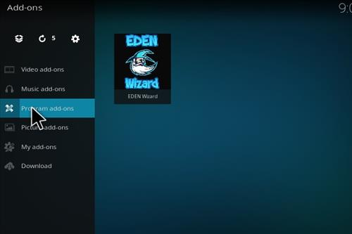 How to Install Eden Ultimate Build Kodi 17 Krypton step 15