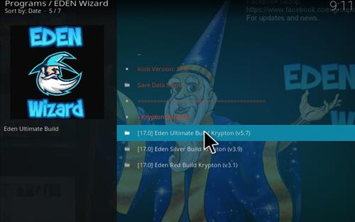 How to Install Eden Ultimate Build Kodi 17 Krypton step 18
