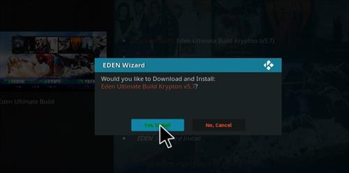 How to Install Eden Ultimate Build Kodi 17 Krypton step 20