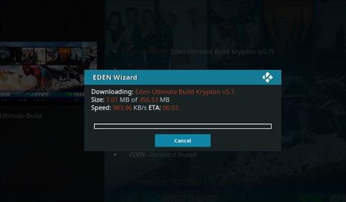How to Install Eden Ultimate Build Kodi 17 Krypton step 21
