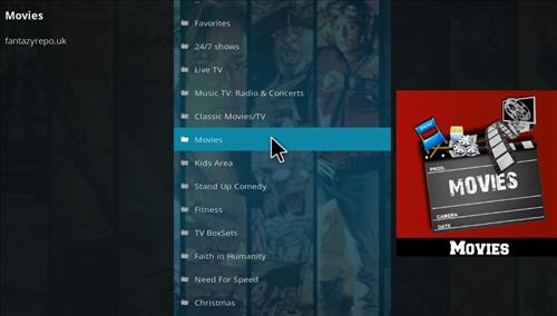 How to Install Fido Video Kodi Add-on with Screenshots pic2