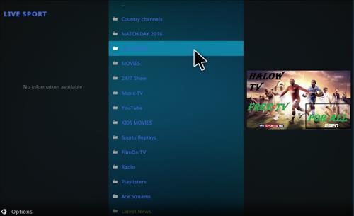 How to Install Halow Live TV Add-on Kodi 17.1 Krypton pic 2