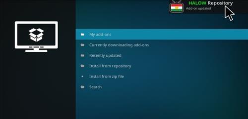 How to Install Halow Live TV Add-on Kodi 17.1 Krypton step 13