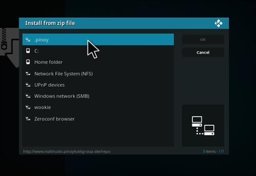 How to Install Malchus TV Pinoy Add-on Kodi 17.1 Krypton step 11