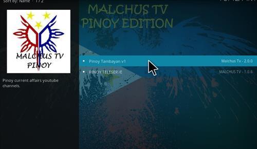 How to Install Malchus TV Pinoy Add-on Kodi 17.1 Krypton step 17
