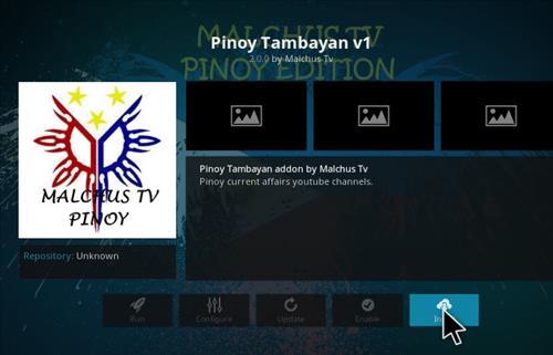 How to Install Malchus TV Pinoy Add-on Kodi 17.1 Krypton step 18