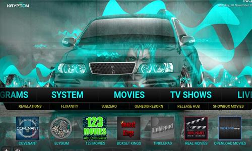 How to Install Mammoth Build Kodi 17 .6 Krypton pic 2