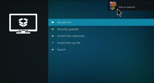 How to Install Mammoth Build Kodi 17 .6 Krypton step 13
