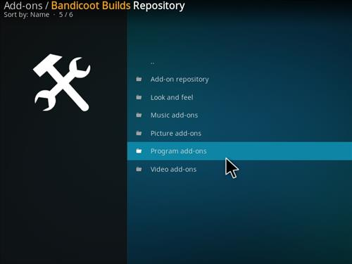 How to Install Mammoth Build Kodi 17 .6 Krypton step 16
